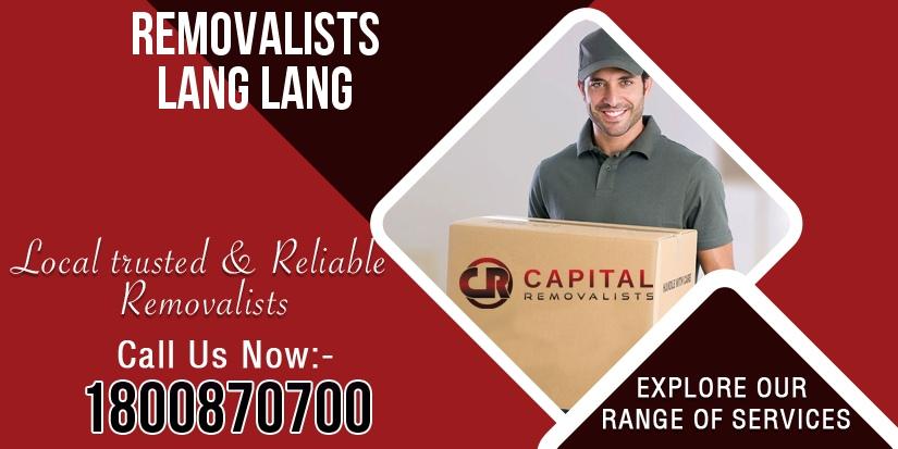 Removalists Lang Lang