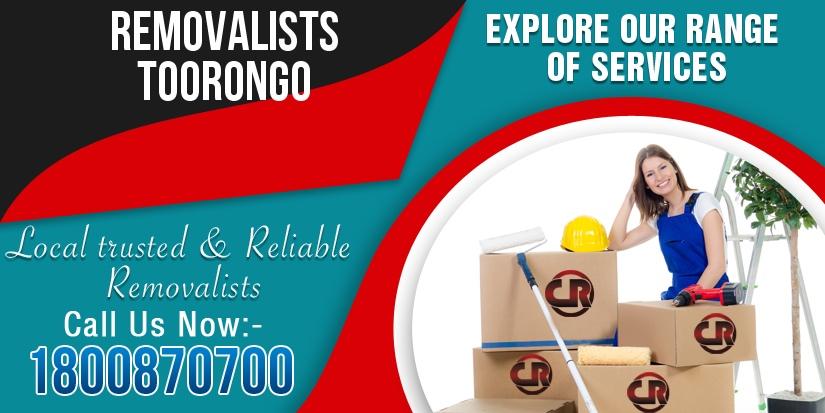 Removalists Toorongo