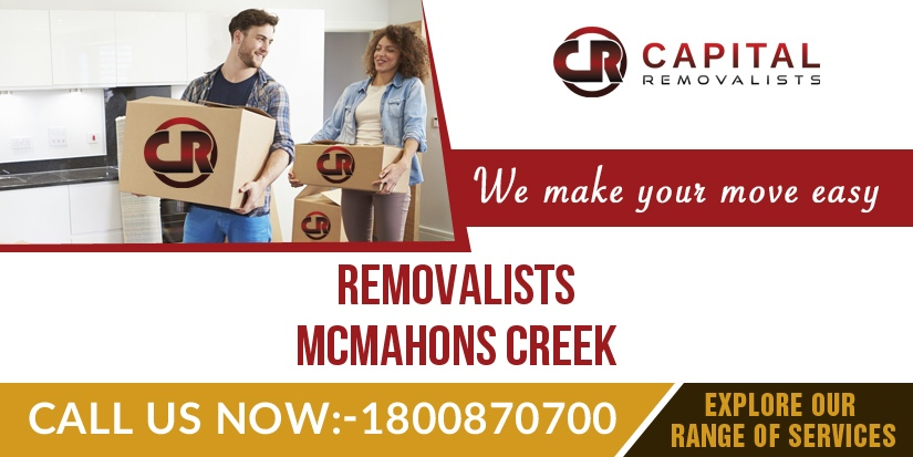Removalists McMahons Creek