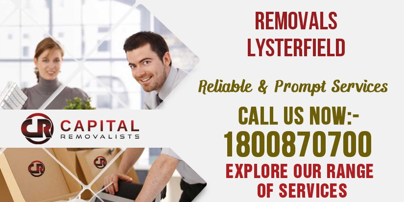Removals Lysterfield