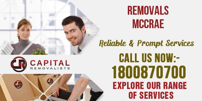 Removals McCrae
