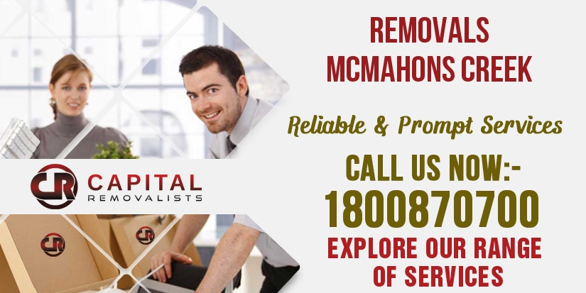 Removals McMahons Creek