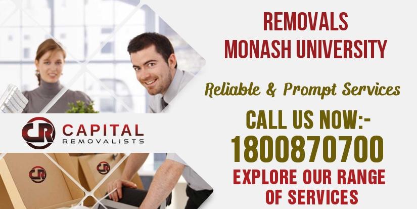 Removals Monash University