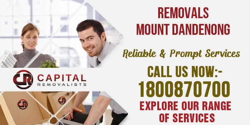 Removals Mount Dandenong