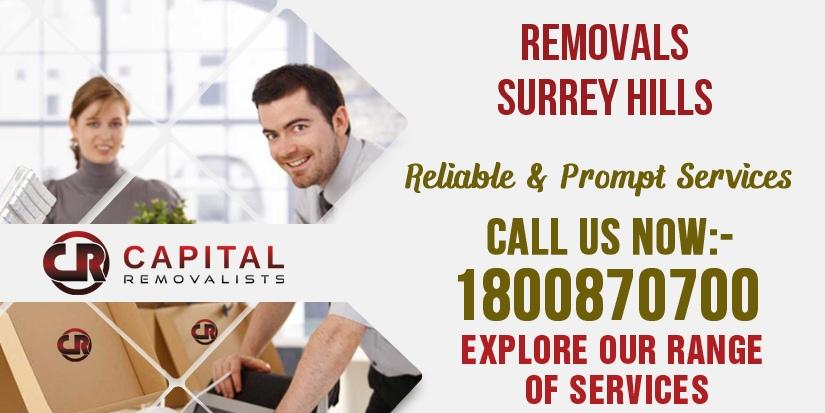 Removals Surrey Hills