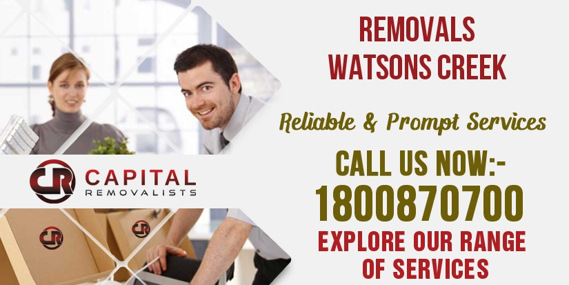 Removals Watsons Creek