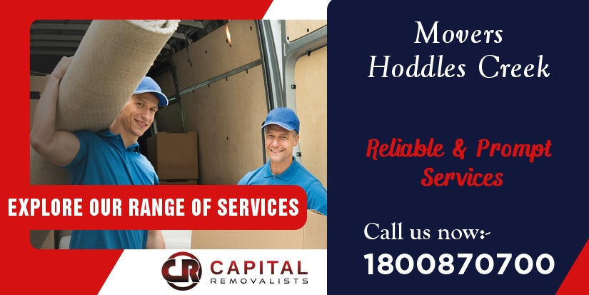 Movers Hoddles Creek