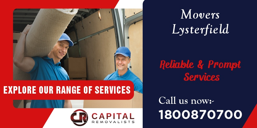 Movers Lysterfield