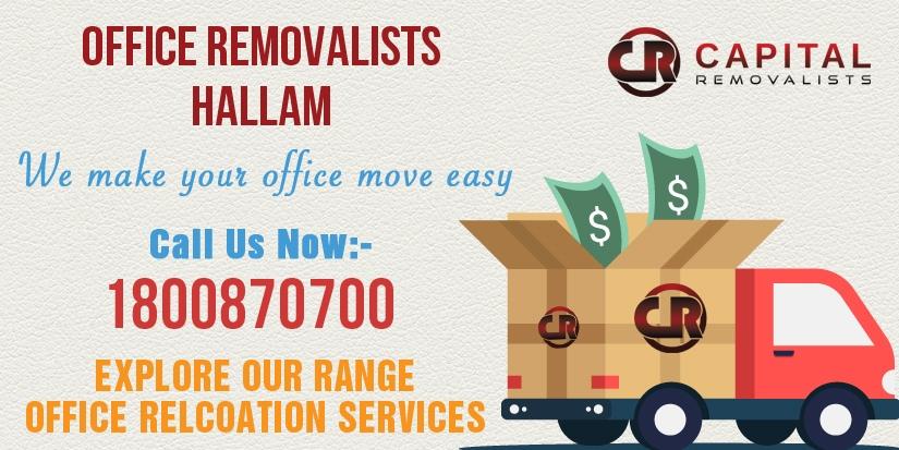 Office Removalists Hallam