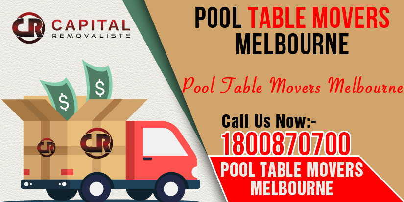 Pool Table Movers Melbourne